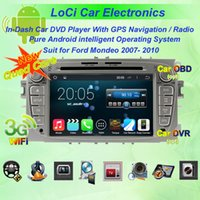 Ford Mondeo 2007- 2011 Auto dvd Multimedia Radio mit Android 4.4.4 System, GPS Navigation, Quad Core