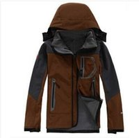 Wholesale Men S Suits Plaid - The North Mens Soft Shell Winter Jackets Fashion Casual Warm Windproof Sportswear Face Down Brand Suits S-XXL