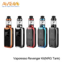 Vaporesso Revenger Vape Starter Kit 220w Out Put con NRG Atomizer NRG Mini Tank Kit VS Smok T Priv Kit Alien Mod