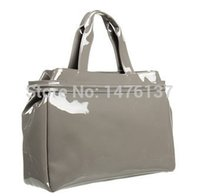 Wholesale Jelly Evening Bags - Wholesale-evening bags New arrival women's handbag AJs bag shoulder bag japanned leather patent leather oil skin PU jelly handbag 808
