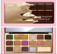 16 sombra de olhos venda por atacado-Mais novo enfrentou Chocolate Gold Bar Metallic Matte 16 cores da Paleta Da Sombra de Maquiagem e Alta Qualidade Frete Grátis