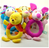 Wholesale designing toy puppet for sale - Group buy Toys For Children D Plush Animal Cartoon Design Baby Toddlers Infants Puppet Handbell Toy Gift