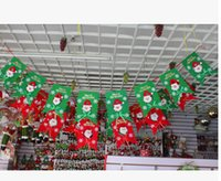 Wholesale Six Flags - Free Shipping Christmas Old Man Six Flags Snow Man Eight Flags Christmas Decorations 2015 Festive Party Supplies Ornaments 13