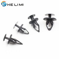 Wholesale Wheels Rivets - Auto Fender Wheel & Bumper Fascia Push-Type Fastener Retaining Clip For Ford GM Chevrolet Jeep GMC Cadillac Buick Retainer Rivets
