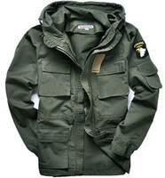 Wholesale M65 Coat - M65 Military style jackets for men pilot coat usa army 101 air force bomber outdoor jacket