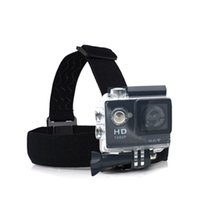 Wholesale Cheapest Gopro Cameras - Wholesale-2016 Cheapest hot Sport cam accessories Head Strap Action Camera Gopro Hero 4 Go Pro Hero 3 Xiaomi Yi SJCAM SJ4000 SJ5000 SJ6000