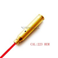 Wholesale Sight Scope Laser Bore Sighter - 223 REM Laser Red Dot Cartridge Bore Sight Sighter 5.56 Nato Boresight For Scope 1pc