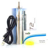 Wholesale Ec Pen - Eleaf iJust 2 starter kit with 5.5ml 0.3ohm EC Coils 2600mAh Battery iJust 2 Atomizer Airflow Control Kits Vape pen