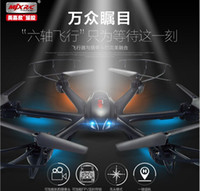Wholesale Mjx Camera Free Shipping - MJX X600 Six Axis Rc Helicopter Quadcopter Aircraft Drone Can Take Camera Vs Syma X5c free shipping