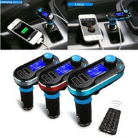 Wholesale Wireless Bluetooth FM Transmitter MP3 Player Car Kit Charger for iPhone S C