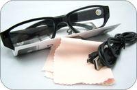 Wholesale Mini Usb Flat - Hot selling Mini glasses Camera Eyewear Ultra-thin flat glasses Hidden Spy camera Dvr Video & Audio Recorder Mini DV USB disk