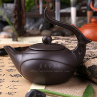 Wholesale Phoenix Teapot - Wholesale-New 2014 Kung fu tea set yixing ore teapot fine furnishings phoenix pot to relief zhuni easy bubble maker 2 color capacity 120ml