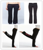 Wholesale Tights Woman Cheap - Free Shipping original Brand bench new style tna Wholesale retail Lulu Cheap yoga Long pants Women's crop yoga leggings tights sportswear