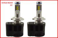 Wholesale Led H11 55w - 1 Set H7 110W 10400LM P6 LED Headlight 12 24V LUMILED MZ 4SMD CHIP 3000K 4300K 5000K 6000K CANBUS No Error Free 55W 5200LM Replace HID Kit