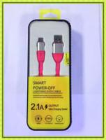 cabos de cores usb para android venda por atacado-1 m 3ft mix cores cabos listrados v8 cabo usb micro usb2.0 cabo de sincronização de dados cabo do carregador para android telefone inteligente iphone 5