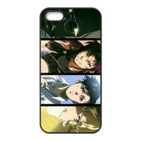 Wholesale Black Lagoon Anime - Free Shipping Phone Case Cover For iPhone 4 4s 5c 5 5S 6 6s Plus,Black Lagoon Anime Hard Mobile Cover