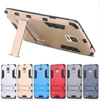 Wholesale Silicone Iron Cover - Iron Man Hybrid 2 in1 Slim Tough Armor Silicone Shockproof Back Cover Case With Stander For Iphone 5 6 6s plus 7 7plus samsung S6 S7 Edge