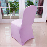 Wholesale Wedding Chair Covers Fashion Wedding Elastic and Colorfast Dining Chair Covers Hot Wedding Easy Clean and Polyester Waterproof Safe Banquet