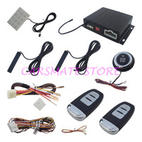 Wholesale Top Remote Locking - Top quality hopping code Intelligent PKE car alarm system with remote start automatic lock or unlock Password Keyboard Operation