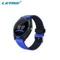 Wholesale Fitness Hours - Bluetooth Smart Watch V9 With Camera SmartWristband Pedometer Health Sport Bracelet MP3 Clock Hours Men Women Smartwatch For Android