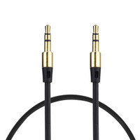 Wholesale cable audio mm to mm male to male extension cable aux cable for car headphone PM4 PM3 b011