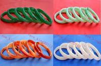 Wholesale Handicraft Wedding - Wholesale Lots 12pcs handicraft jade agate gemstone women's pretty Wedding bracelet Bangle FREE