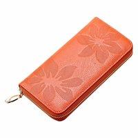 Wholesale Passport Wallet Women - 2015 Hot Sale Women Leather Purse Wallet Phone Card Bag Zipper Handbag Passport cover portefeuille femme bolsas Free Shipping