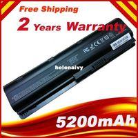 Wholesale Dv3 Battery - Lowest price Free shipping NEW 5200mAh Laptop battery for HP PAVILION DM4 DV3 DV5 DV6 DV7 DV8 G4 G6 G7 P N 593554-001