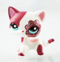 Wholesale finish cat - little pet shop toys 5cm figure lps short hair cat #2291