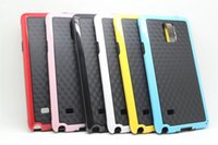 Wholesale Galaxy Note Case 5pcs - 2014 New Honet Double Color PC+TPU Hybrid Case for Galaxy Note 4 Protective Colorful Cell Phone Cases for Note4 5pcs up