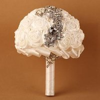 Wholesale Button Bouquets - Western Wedding Bouquet Button 3colors Mix 2014 New Arrival 1pc Free Shipping 1226B3