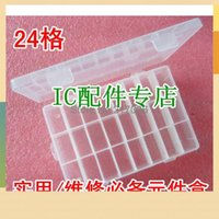 order computer parts - Utility repair essential component box component box grid storage box box parts box IC chip box order lt no track