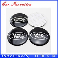 Wholesale Vinyl Wholesalers China - Made In China 65mm and 55mm Wheel Decoration Car Accessories Land Rover Car Brand Car Stickers For Sale