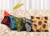 """Wholesale Chic Cushion Covers - Wholesale-New 2015 17"""" Retro Cushion Throw Pillow Cover Case Pillowcase Pillowslip Chic"""