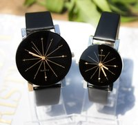 Wholesale Luxury Watch Couples - 2015 fashion Men's Watches Top Brand Luxury Quartz couple Watch Fashion PU Leather Watches Men Watch relogios masculinos reloj hombre