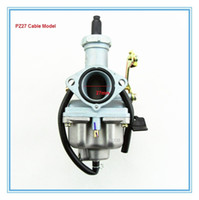 Wholesale Free Shipping For Atv Parts - PZ27 Cable Carburetor for 4-stroke 150cc ATV-Quads etc Free shipping CARBURATEUR Good quality parts factory wholesale