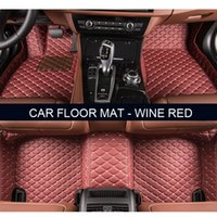 Wholesale Bmw X5 Accessories - Car floor mats for BMW F10 11 15 16 20 25 30 34 E60 E70 E90 1 3 4 5 7 Series GT X1 X3 X4 X5 X6 Z4 car accessories styling Custom foot mats