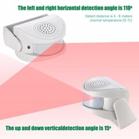 Wholesale Door Entry Sensors - 2017 Welcome device Shop Store Home Welcome Chime Wireless Infrared IR Motion Sensor Door bell Alarm Entry Doorbell
