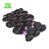 Wholesale Cheap Hair Products Free Shipping - Malaysian Virgin Hair Body Wave 4 pcs Lot Unprocessed Human Hair Weaves Cheap Hair Products Malaysian Body Wave Hair Bundles Free Shipping
