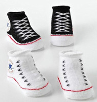 Wholesale Cheap Baby Winter Boots - New Baby Infant Shoe Socks C*NVERSE BABY INFANT Boys Girls CRIB SHOES BOOTIES SOCKS boot sock 0-6M cheap 201504HX