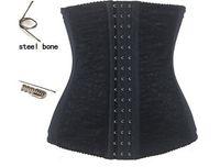 Wholesale Training Girdles For Women - Big women Steel Bone Girdle Waist Cincher Top Waist Training Corsets Underbust Belt Body Control Shaperwear Hot Shapers for fat women 5372