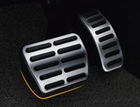 Wholesale volkswagen alloys resale online - for Volkswagen Polo aluminium alloy clutch pedal accelerator pedal car footboard brake pedal
