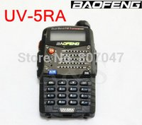 Wholesale-20pcs / lot BAOFENG UV-5RA digitale citofono citofono di 2 sensi 136-174MHz / 400-480MHz Radio Dual Band walkie-talkie