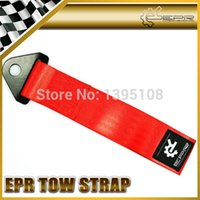 Gros-Car Styling EPR Red Eye Strap remorquage remorquage Boucle Strap Drift Rally Racing Outil d'urgence 21.5cm JDM R35 GTR