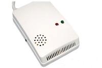 Wholesale Natural Gas Detectors - HOT! Combustible Gas Detector Alarm Sensor Natural Gas Leak Sensor Detector Alarm with Voice Warning and LED Indicator 10pcs 00917