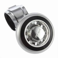 Wholesale Hand Control Knob - Wholesale Free Shipping New Car Hand Control Steering Wheel Knob Ball Power Handle Grip Spinner