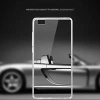 Wholesale Gel Mate - For Huawei P8 Lite Max P7 7i Mate 8 Honor 7 6 plus Transparent Cases Clear TPU Gel Phone Shell Soft Back Case
