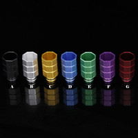 Wholesale Colorful Aluminum Drip Tip - New Arrival Aluminum Drip Tips For Ecigs Fit for E Cigarette Mechanical Mod Colorful 510 Mouthpiece Wide Bore Drip Tip