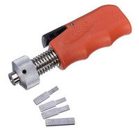 Wholesale Reverse Machine - GOSO Straight Shank Civil Lock Pick Reversing Gun Locksmith Tool