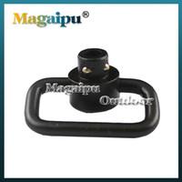 Wholesale Heavy Duty Qd Sling Swivel - Wholesale 50pcs lot Heavy Duty Push Button QD Sling Swivel Mount 1.25 Inch Loop
